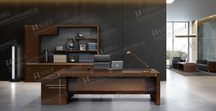 大连实木办公桌