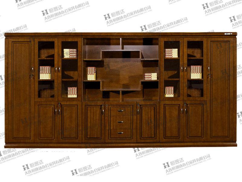 胡桃木文件柜