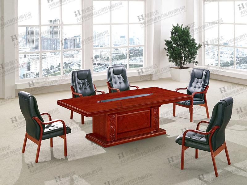 盖州酸枝木会议桌