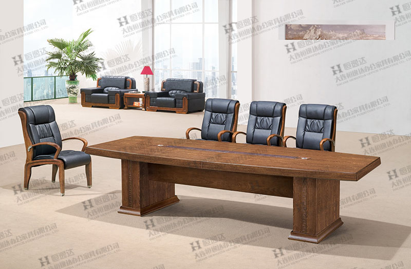 鸡翅木会议桌