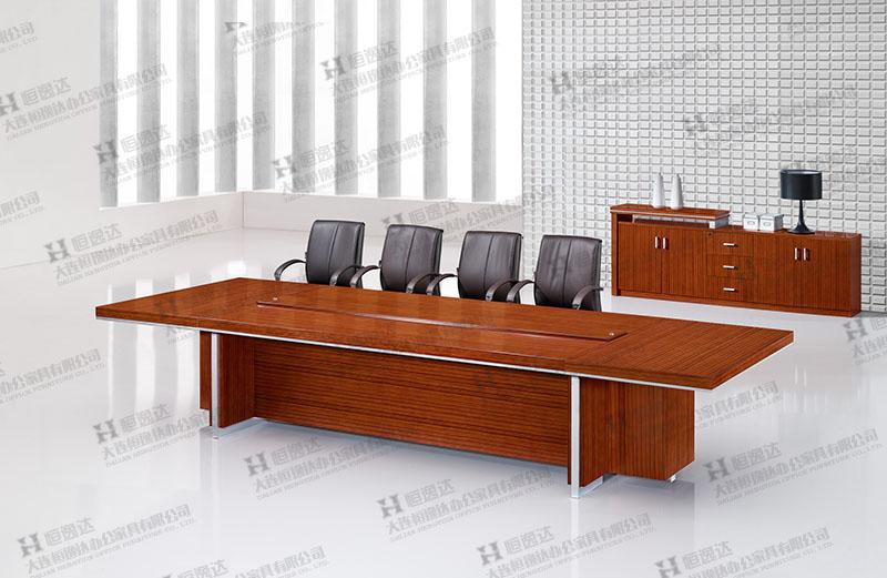 锦州斑马木会议桌