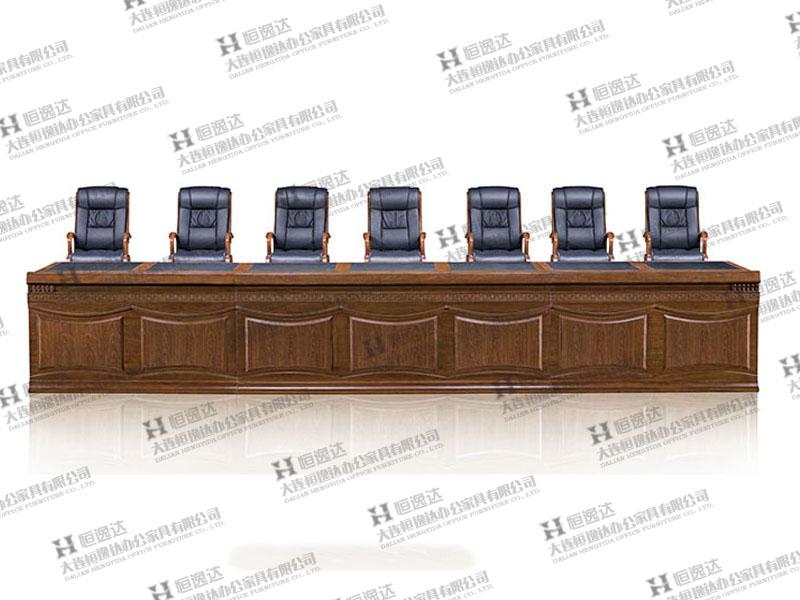 胡桃木会议桌