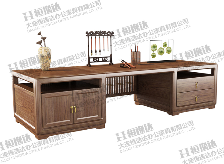 锦州大连白蜡木实木班台
