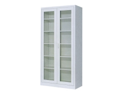 整体玻璃门柜