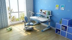 T1 蓝色课桌