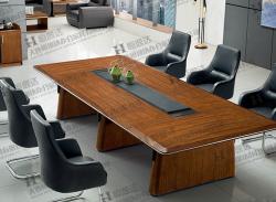 小山纹胡桃木会议桌