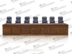 庄河鸡翅木会议桌