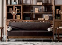 胡桃木系列沙发