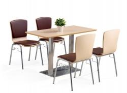 大连四人位餐桌椅